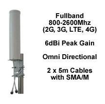 An external antenna for 3G and 4G